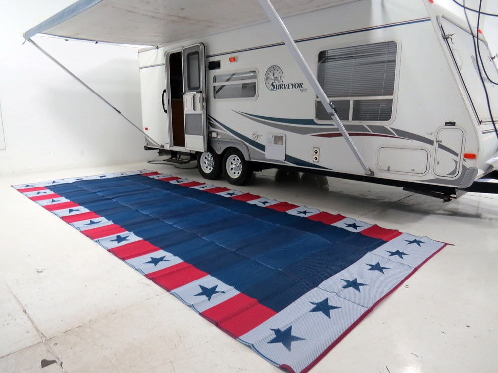 Faulkner RV Mat - Independence Day - Red, White, and Blue ...