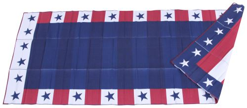 Faulkner RV Mat - Independence Day - Red, White, and Blue