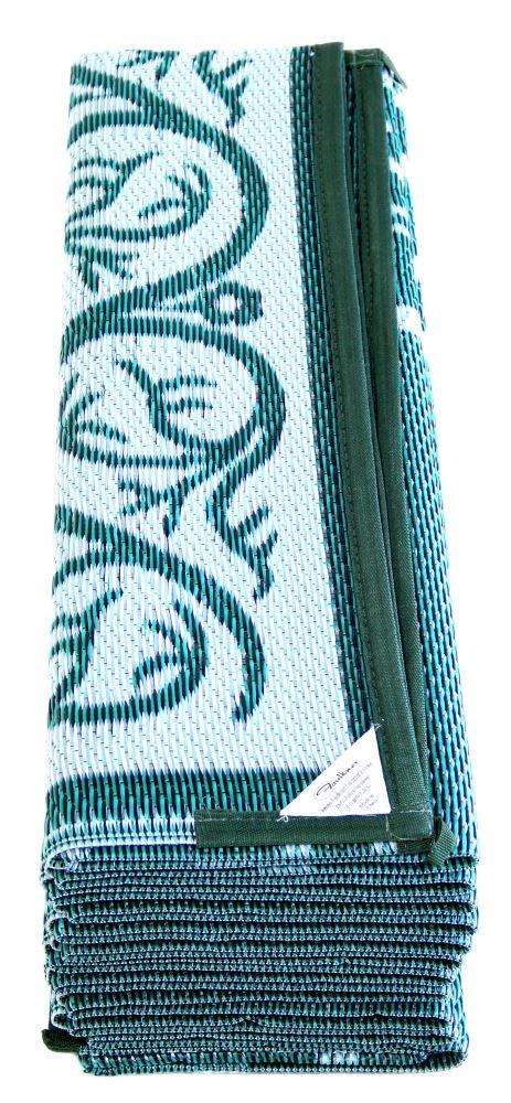 Faulkner Rv Mat Vineyard Green 8 X 20 Faulkner