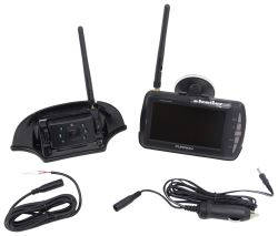 "Furrion Digital Wireless Backup Camera w/ Color LCD Monitor and Mounting Bracket - 4.3"" Screen"