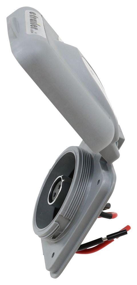solar port inlet for furrion solar panel battery charger. Black Bedroom Furniture Sets. Home Design Ideas