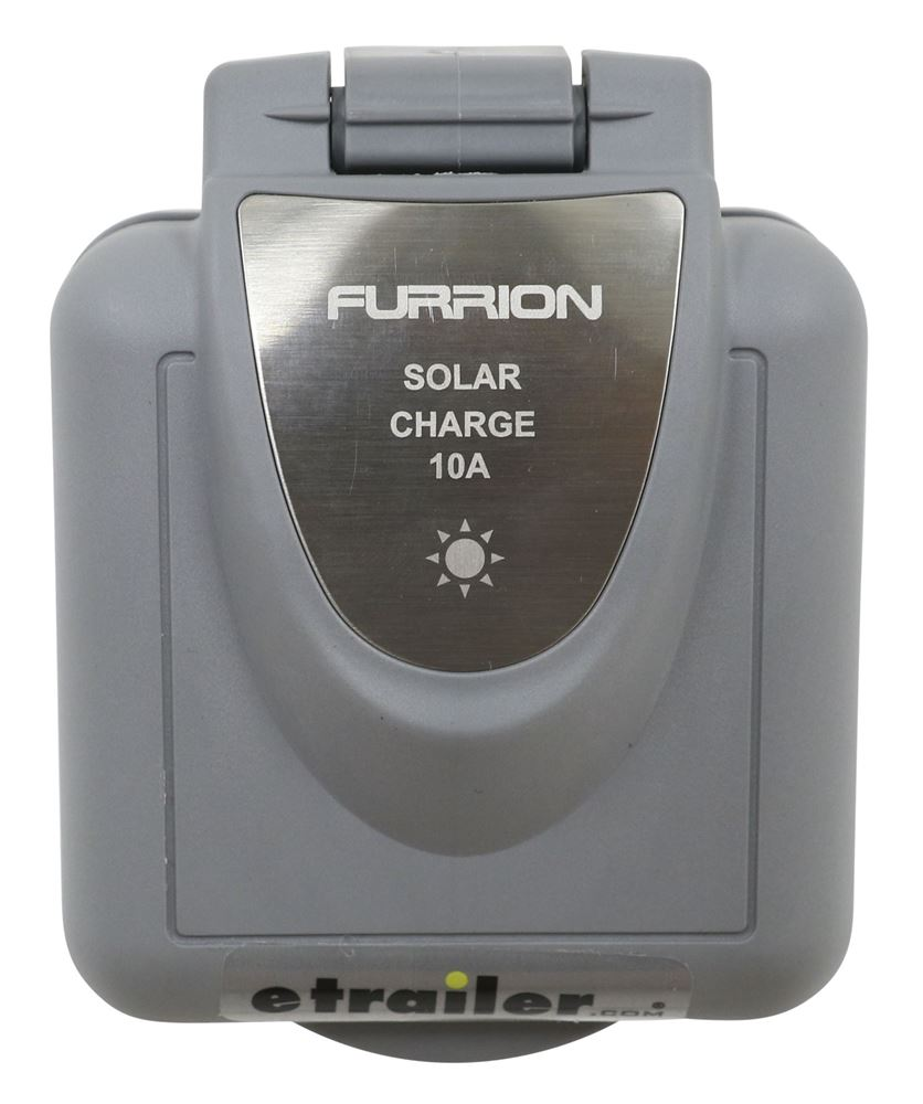 Solar Port Inlet For Furrion Solar Panel Battery Charger