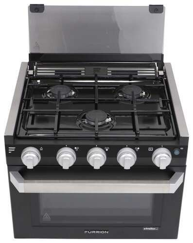Furrion 2 In 1 Range Oven W Wired Grate 17 Quot Black