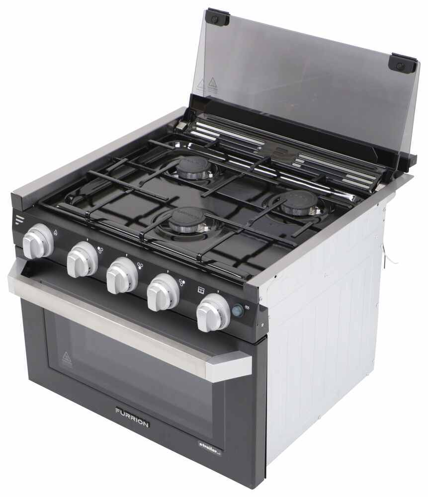 FSRE17SABL - 7100 Btu Furrion RV Stoves and Cooktops