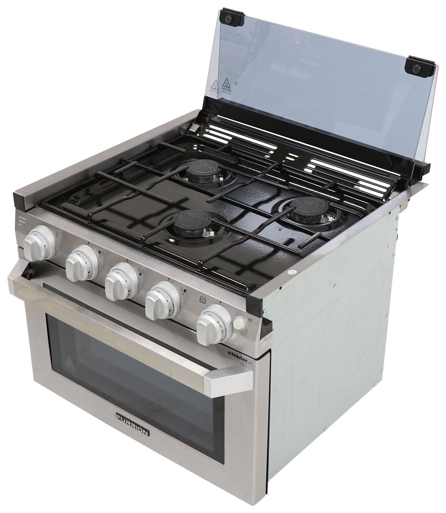 Furrion 7100 Btu RV Stoves and Cooktops - FSRE17SASS
