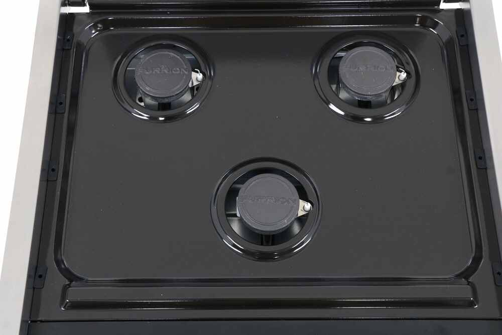 E Cooktops Find The Best Gas Cooktop For Your Boat Or Rv Dometic >> Furrion 2 In 1 Range Oven W Die Cast Grate Propane 21 Tall