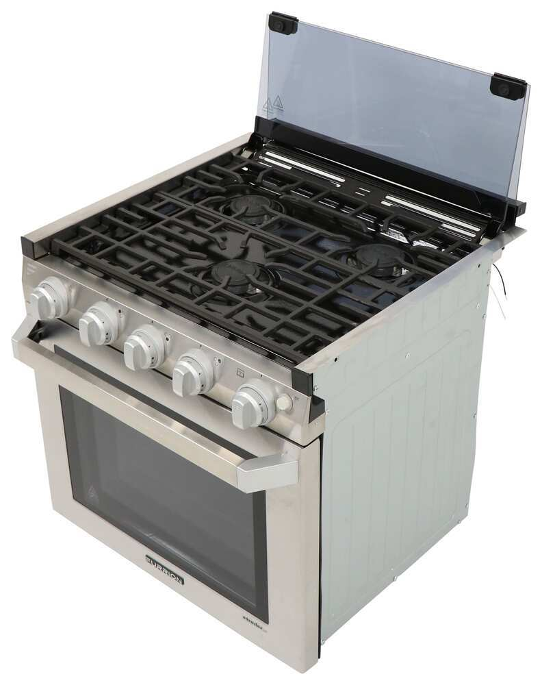 FSRE21SASS - 21W x 21D Inch Furrion RV Stoves and Cooktops