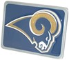 Los Angeles Rams Logo Trailer Hitch Cover Fits 2 Inch Hitch FTHB130S