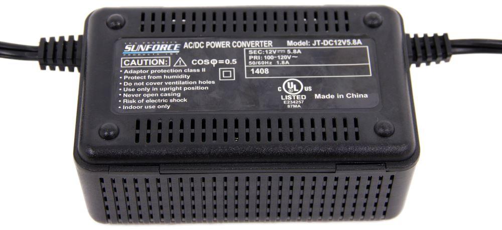 Power Converter for Fan-Tastic Vent Endless Breeze Portable