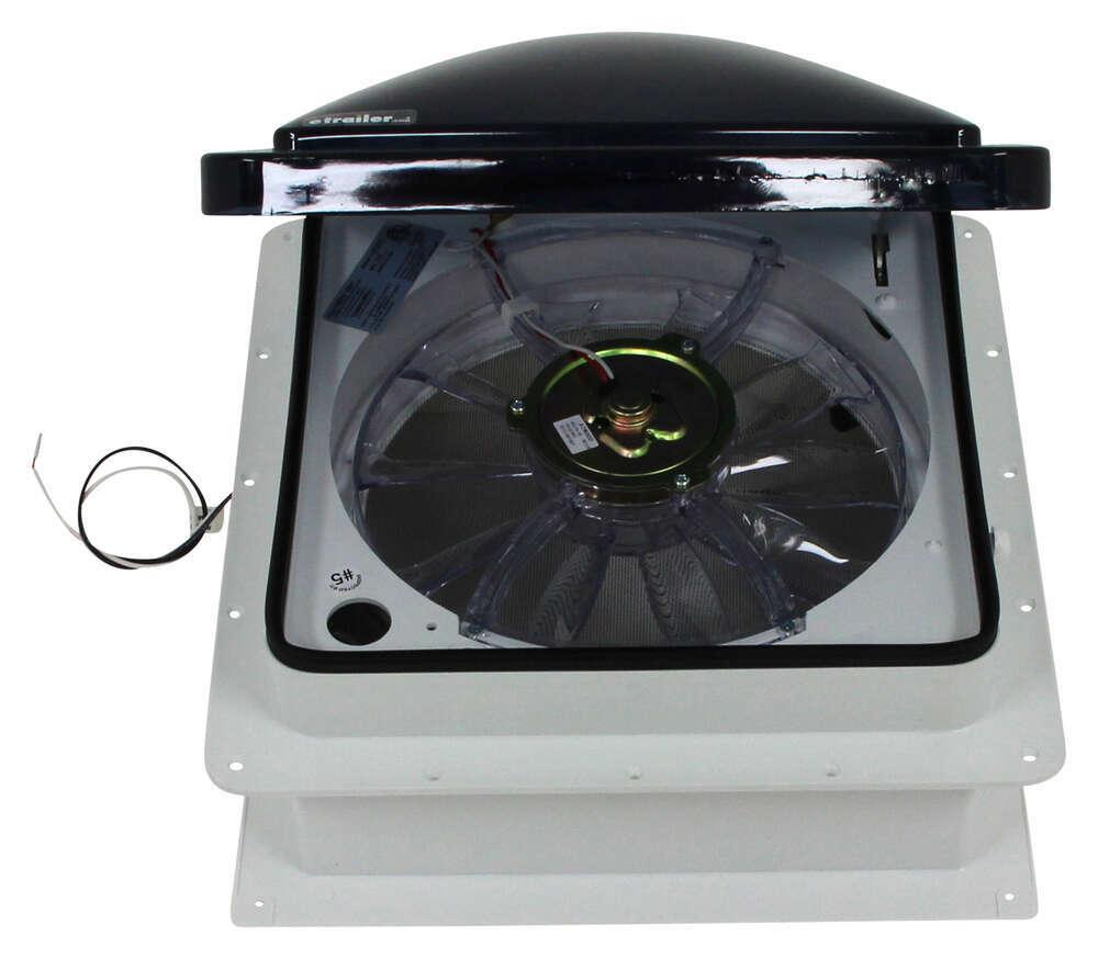 Fan Tastic Vent Roof Vent W 12v Fan Reversible Manual
