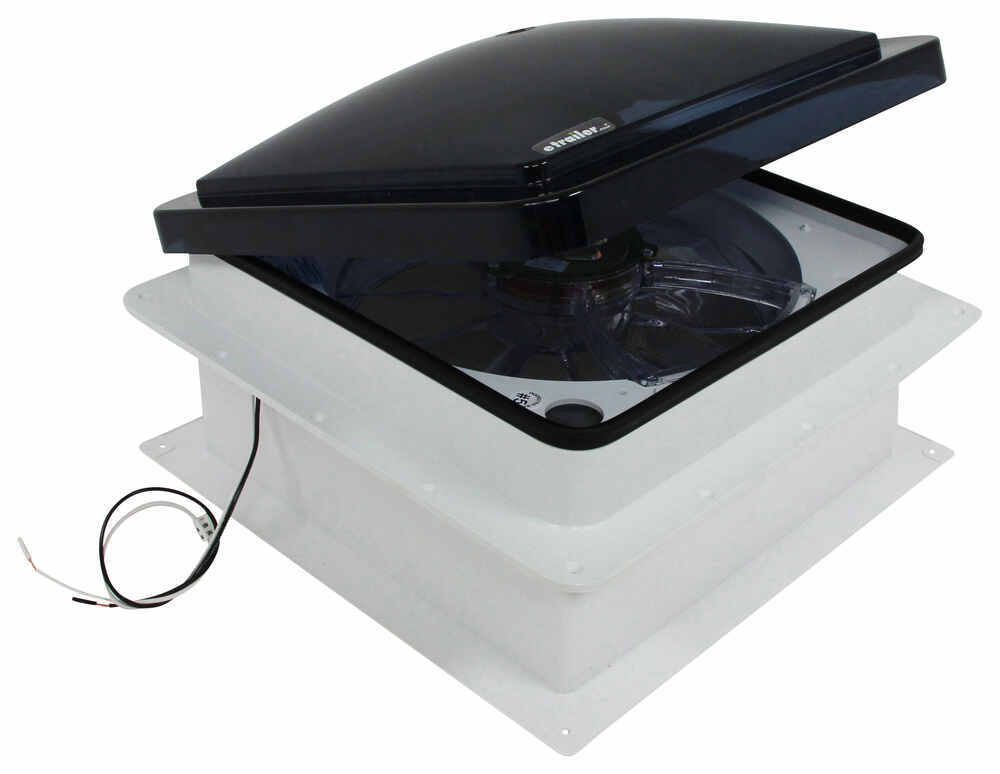 Fan Tastic Vent Roof Vent W 12v Fan Reversible Manual
