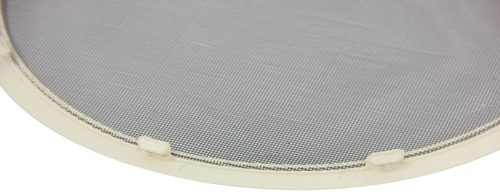 Replacement Bug Screen For Fan Tastic Vent Rv Or Trailer Roof Vents Off White