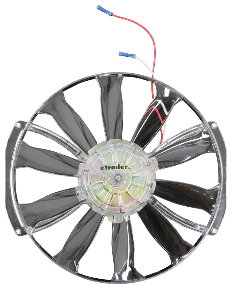 Blower Fan Parts : Replacement fan motor assembly kit for tastic vent