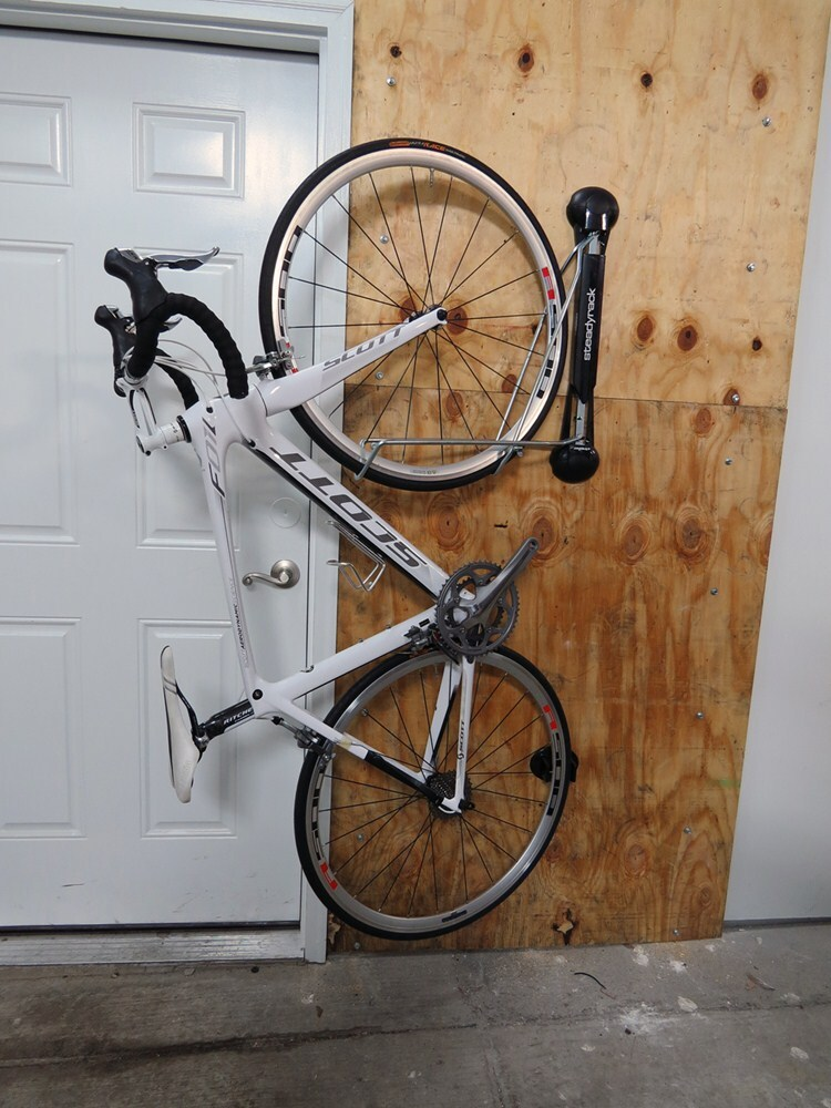 Steadyrack Vertical Bike Storage Rack Swiveling 1 Bike