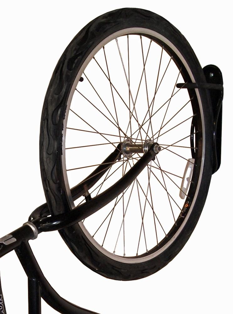 gear up solo vertical wall mount bike storage rack 1. Black Bedroom Furniture Sets. Home Design Ideas