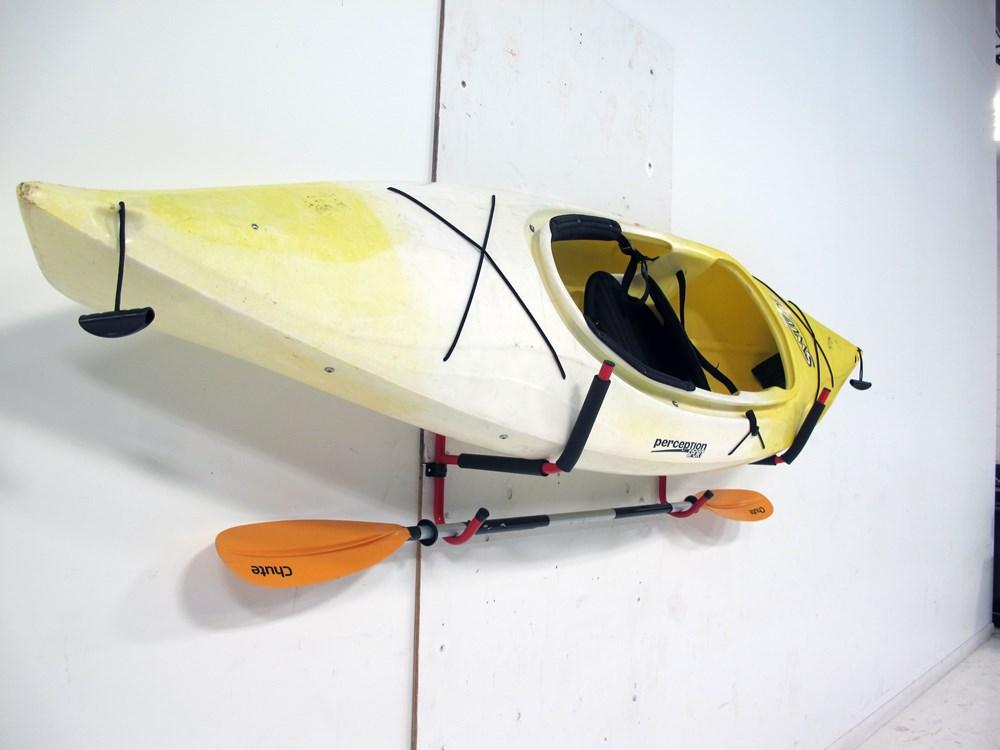 Gear Up Deluxe Wall Mount Folding Kayak Storage Rack 100