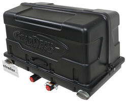 "GearDeck 17 Enclosed Cargo Carrier for 2"" Hitches - Slide Out - 17 cu ft - 300 lbs - Black"