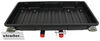 "GearDeck 17 Enclosed Cargo Carrier for 2"" Hitches - Slide Out - 17 cu ft - 300 lbs - Black Fits 2 Inch Hitch H00604"