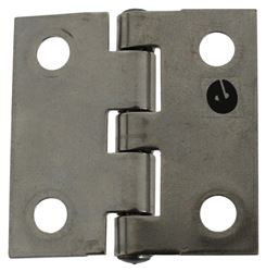 "Paneloc Butt Hinge - 4 Hole - Stainless Steel - 1-1/2"" x 1-1/2"""