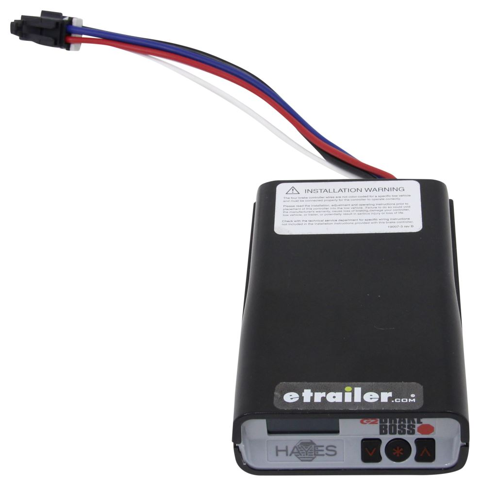 Hayes G2 Brake Boss Trailer Controller W Mounting Sleeve 1 Wiring Troubleshooting To 4 Axles Proportional Ha81792bb