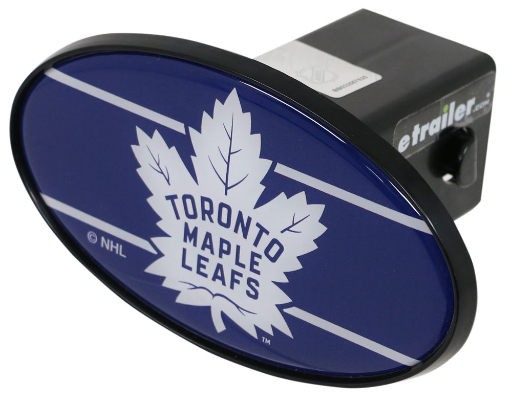"Toronto Maple Leafs 2"" NHL Trailer Hitch Receiver Cover - ABS Plastic Standard HCC086"