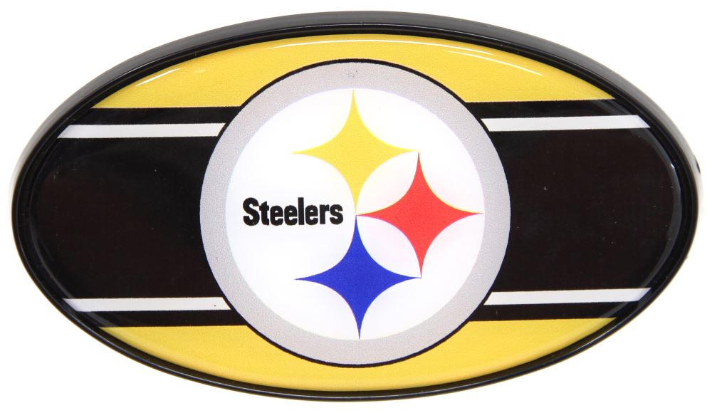Siskiyou Pittsburgh Steelers Logo Hitch Cover Pittsburgh Steelers