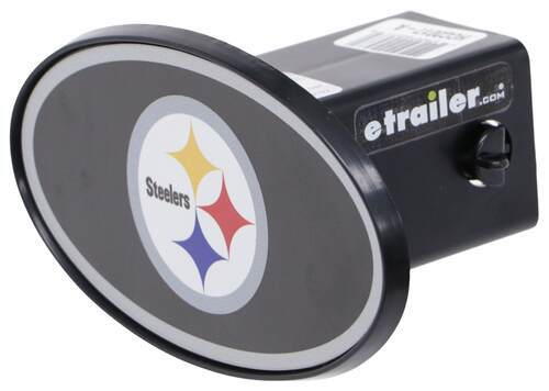 ABS Plastic Pittsburgh Steelers 2 NFL Trailer Hitch Receiver Cover