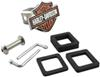 Hardware Included with Harley-Davidson Motorcycles Trailer Hitch Cover for 2 Inch Trailer Hitches