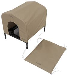 Portable<strong>PET</strong> HoundHouse - Small - Khaki - HE3094