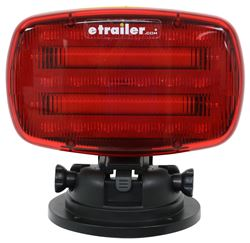 Adjustable Red LED Emergency Light, Magnetic Base - Qty 1