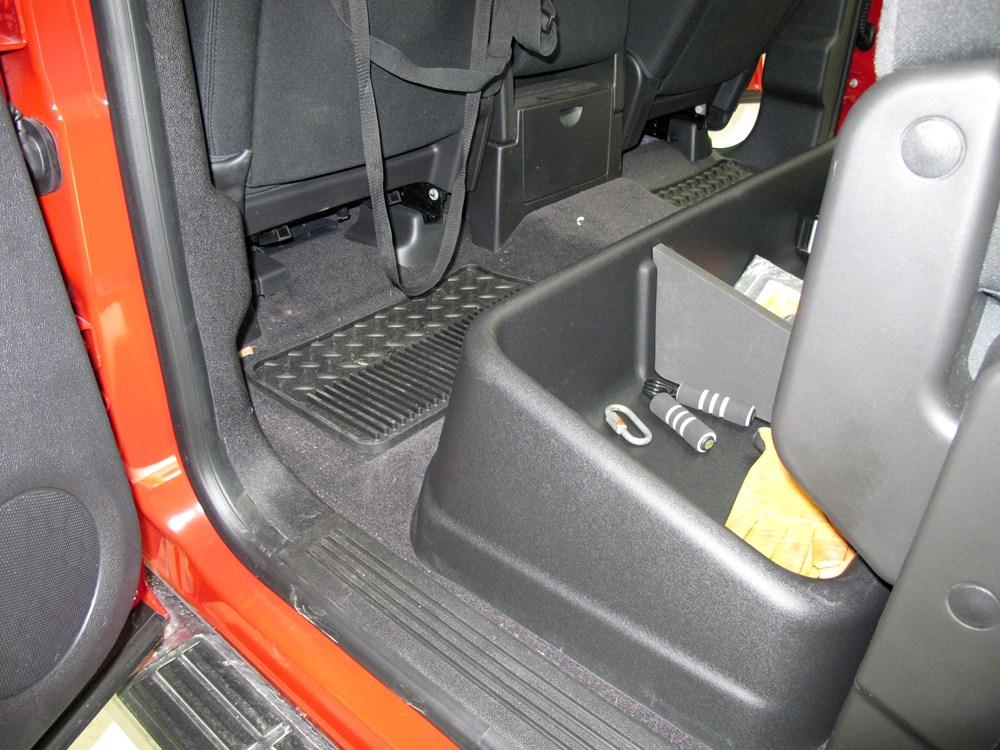 2010 Gmc Sierra Husky Gearbox Interior Storage System For