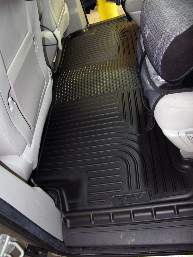 2017 Ford F 250 Super Duty Floor Mats Husky Liners