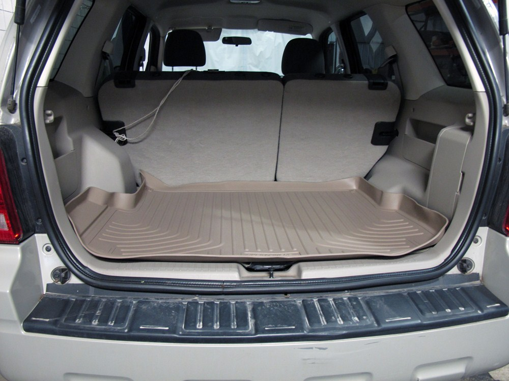 husky liners weatherbeater custom cargo liner tan husky. Black Bedroom Furniture Sets. Home Design Ideas