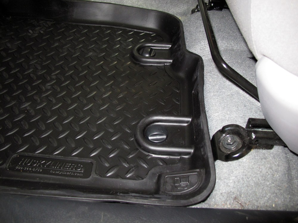 husky liners classic custom auto floor liners front. Black Bedroom Furniture Sets. Home Design Ideas