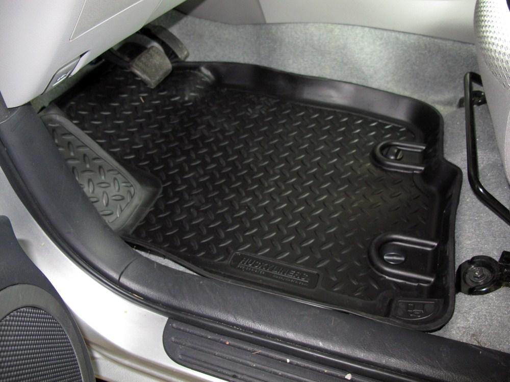 2008 toyota rav4 husky liners classic custom auto floor liners front black. Black Bedroom Furniture Sets. Home Design Ideas