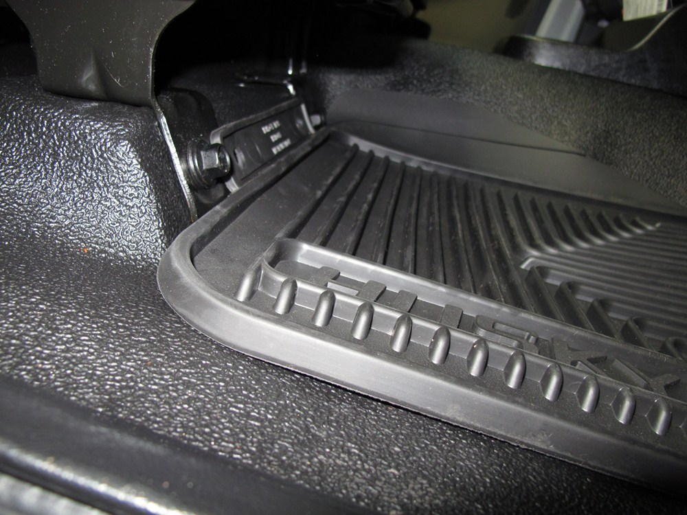 Husky Liners Auto Floor Mats Front Black Husky Liners
