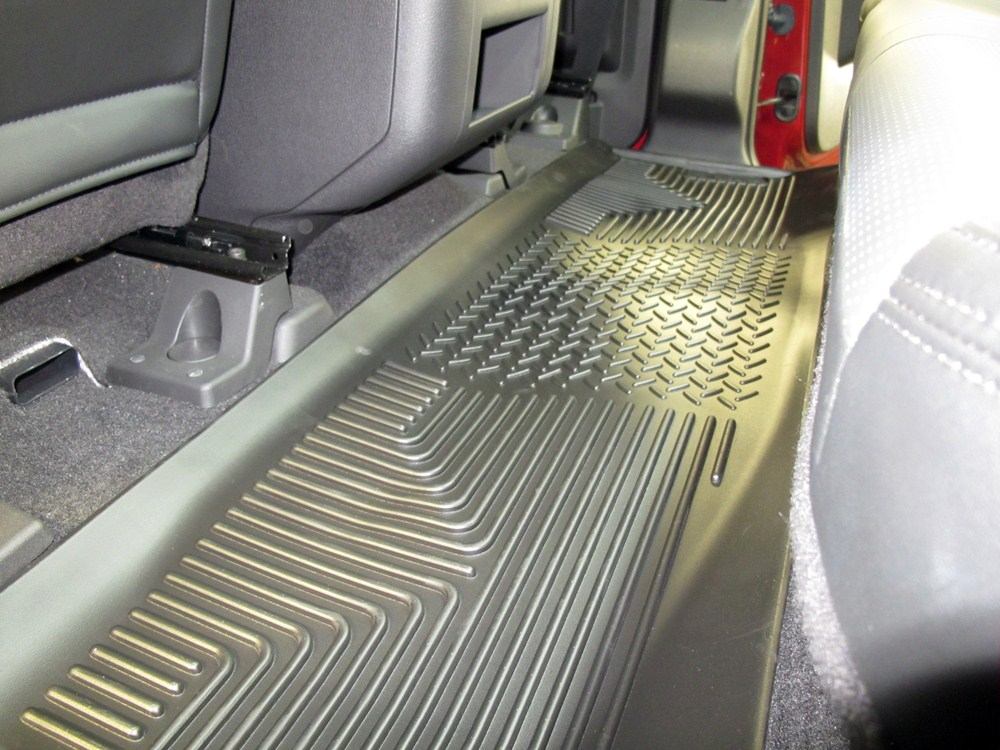 Ford F250 Parts >> 2014 Ford F-250 and F-350 Super Duty Floor Mats - Husky Liners
