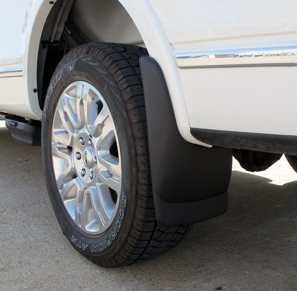Husky Liners Custom Molded Mud Flaps Rear Pair Plastic Hl Ford F
