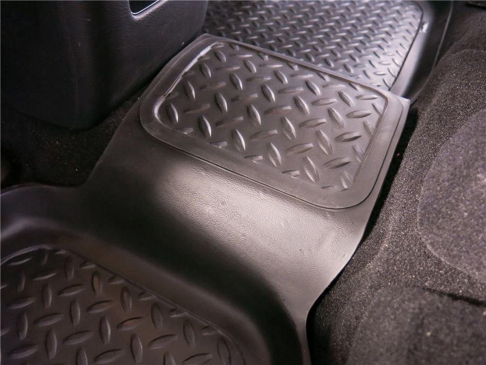 2013 dodge journey husky liners classic custom auto floor liner rear black. Black Bedroom Furniture Sets. Home Design Ideas