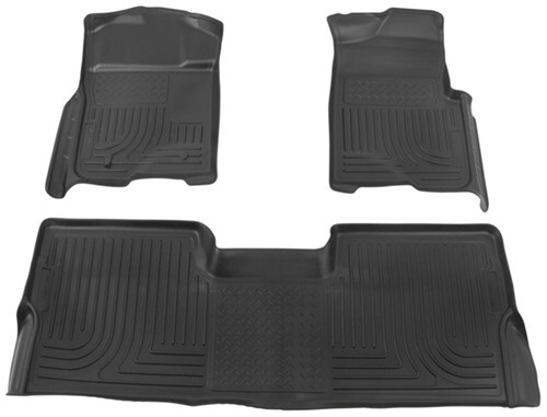 Grey Husky Liners Custom Fit WeatherBeater Molded Rear Cargo Liner for Select Toyota Sienna Models