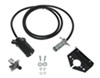 Hopkins Tow Bar Extension Cord w/ Socket - Straight Wire - 7-Way RV to 4-Way Round - 8' Long
