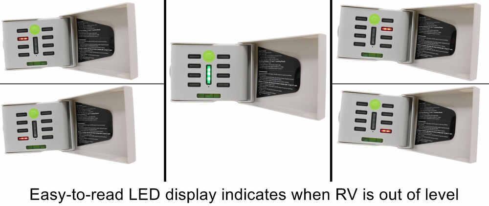 Hopkins RV Leveling Kit with Electronic LED Smart Level Hopkins