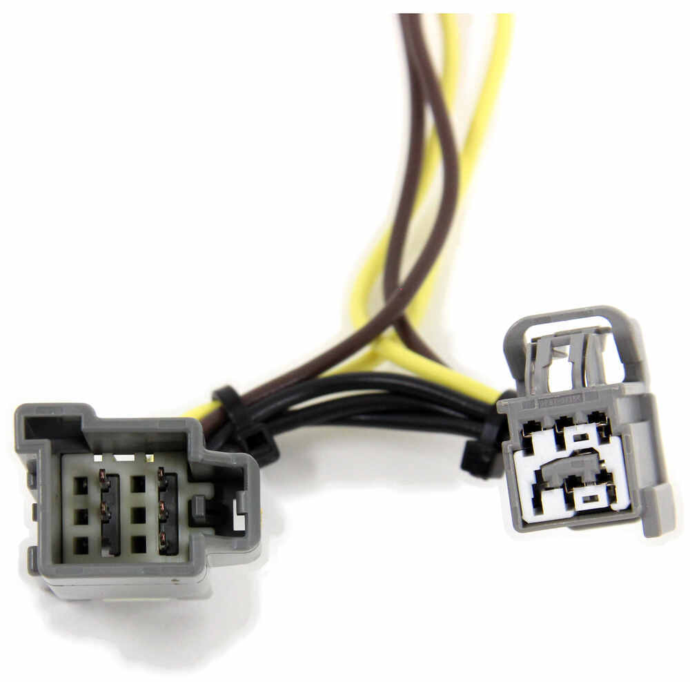 Compare Hopkins Plug In Vs Simple Vehicle Wiring Harness With 4 Pole Trailer Custom Fit Hm11141474