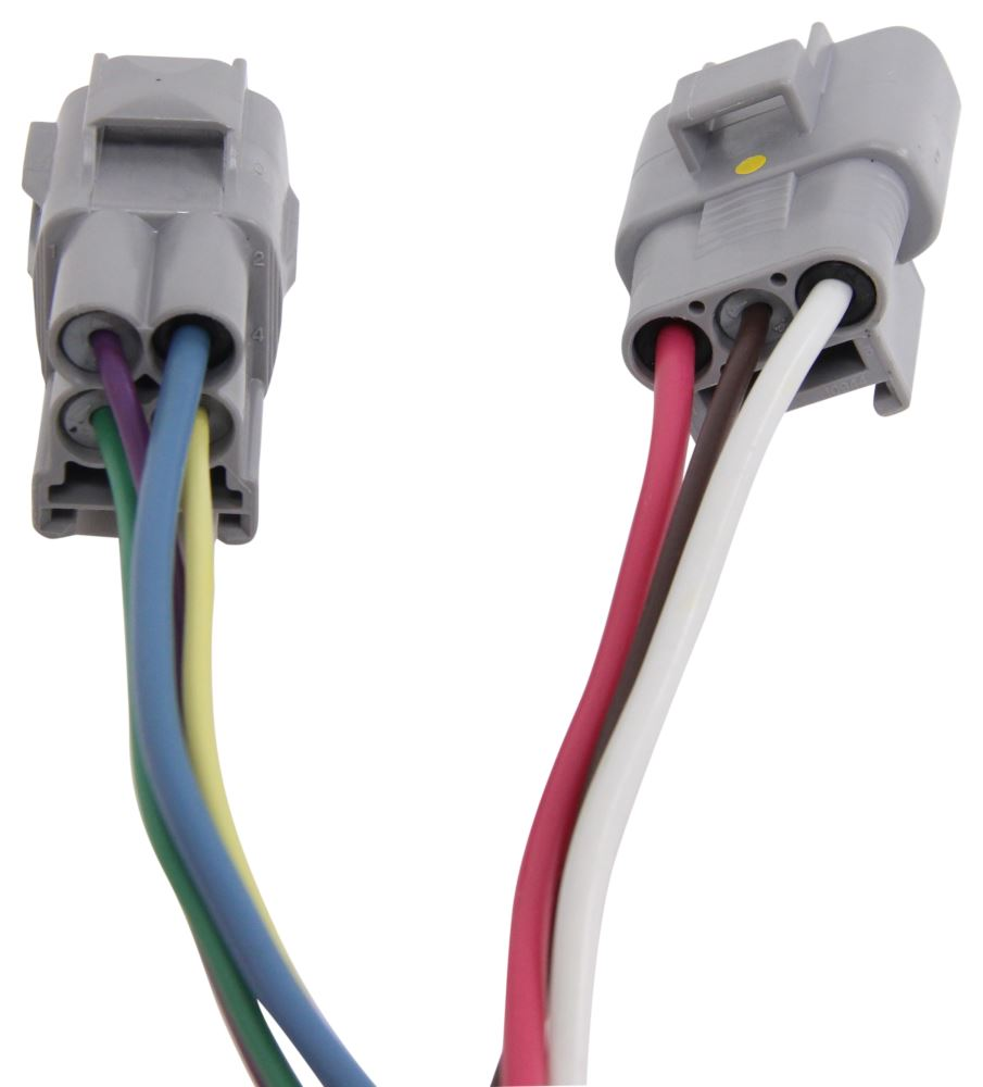 2014 Toyota 4runner Hopkins Plug-in Simple Wiring Harness For Factory Tow Package
