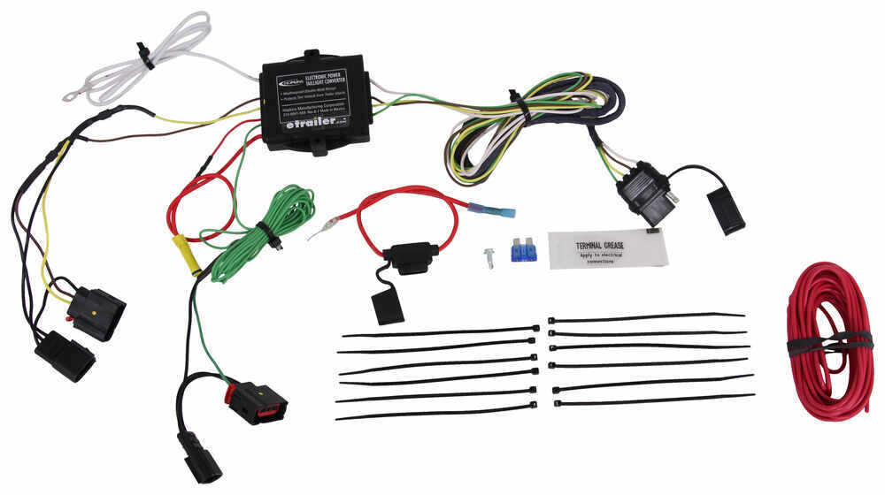 Trailer Wiring Harness For 2011 Jeep Liberty : Jeep patriot hopkins plug in simple vehicle wiring