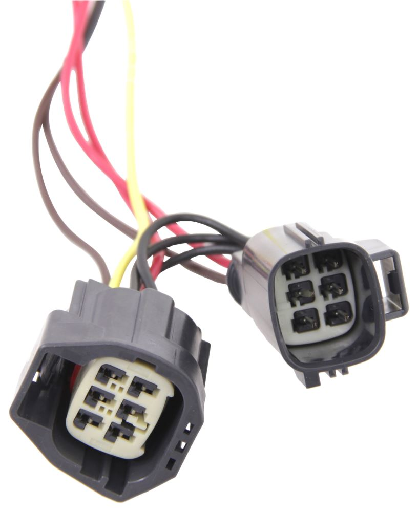 Compare Curt T Connector Vs Hopkins Plug In Etrailercom Simple Vehicle Wiring Harness With 4 Pole Trailer Flat Powered Hm11142485 Custom Fit
