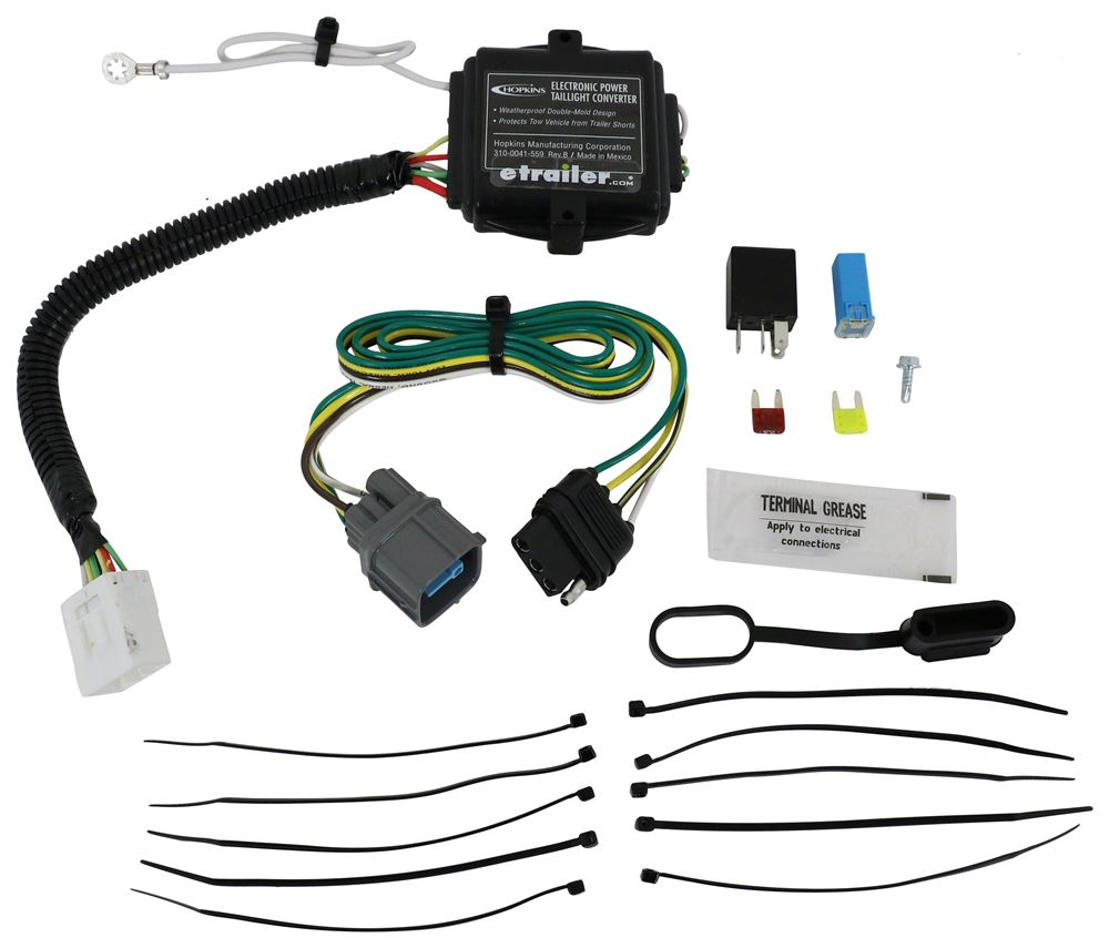 Honda pilot hopkins plug in simple wiring harness for