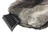 Hopkins Ice Scraper with Faux Rabbit Fur Mitt HM13929