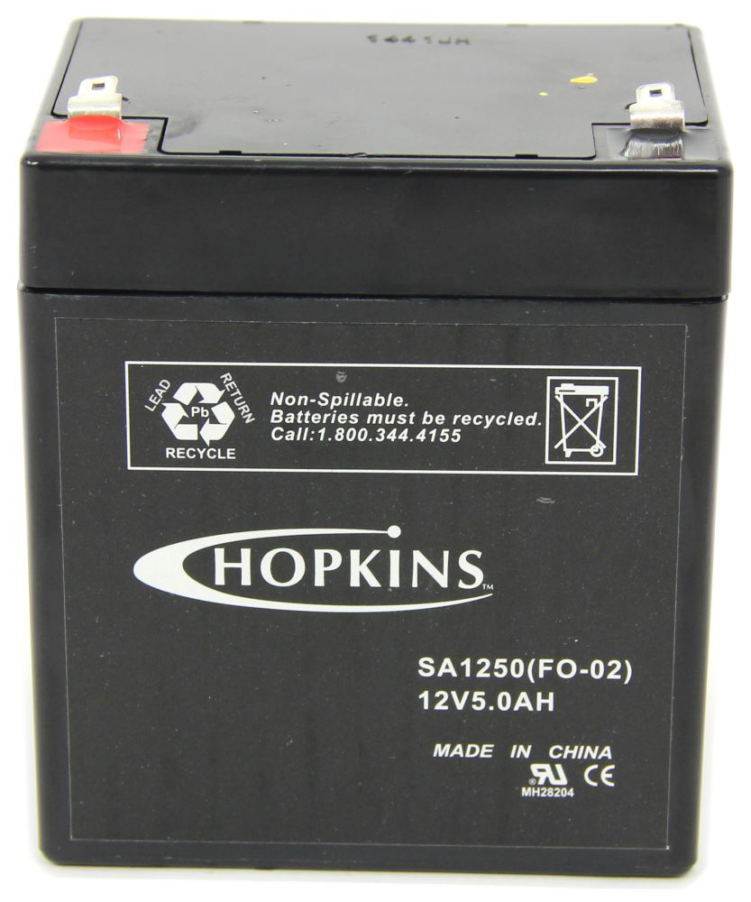 Breakaway Kit Replacement 12 V Battery Hopkins Accessories And Parts HM20008