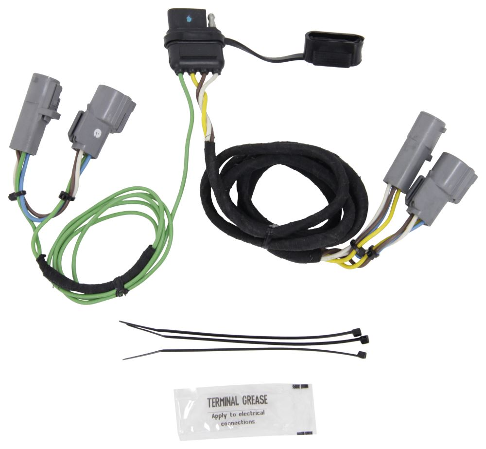 Tow Ready Custom Fit Vehicle Wiring For The Ford Bronco 1994 Unitrol Tm4 Diagram Hopkins